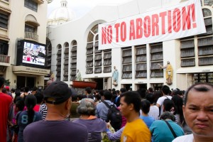 One of the biggest opponents of a state-sponsored birth control program in the Philippines is the Catholic Church. Sam Eaton/Marketplace