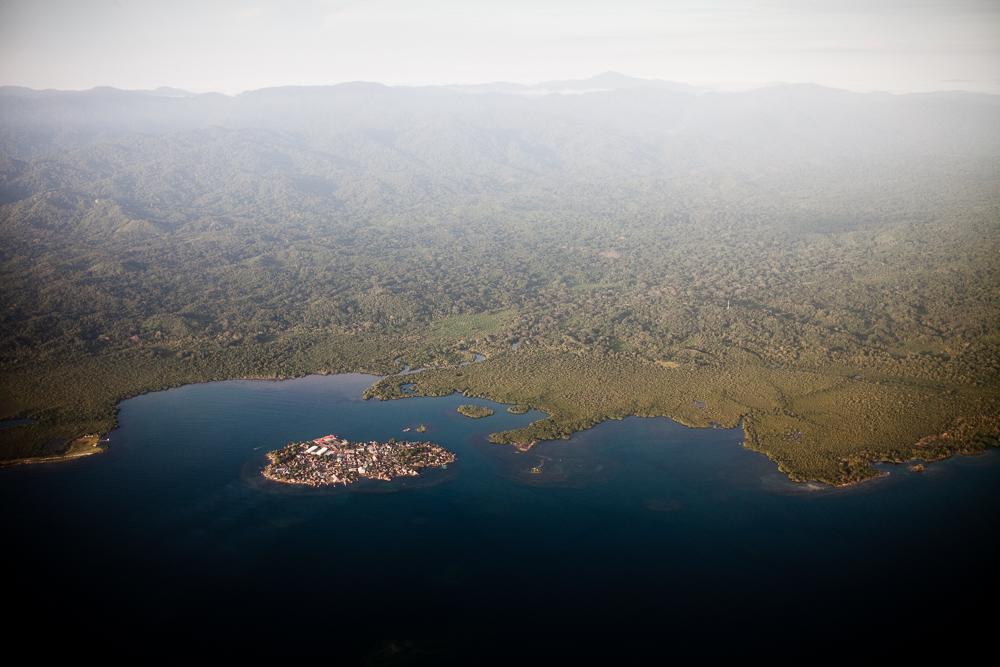 Kuna Yala from the air