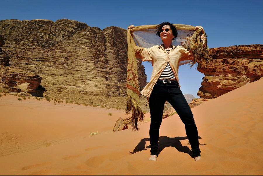 The Wadi Rum, in Jordan.