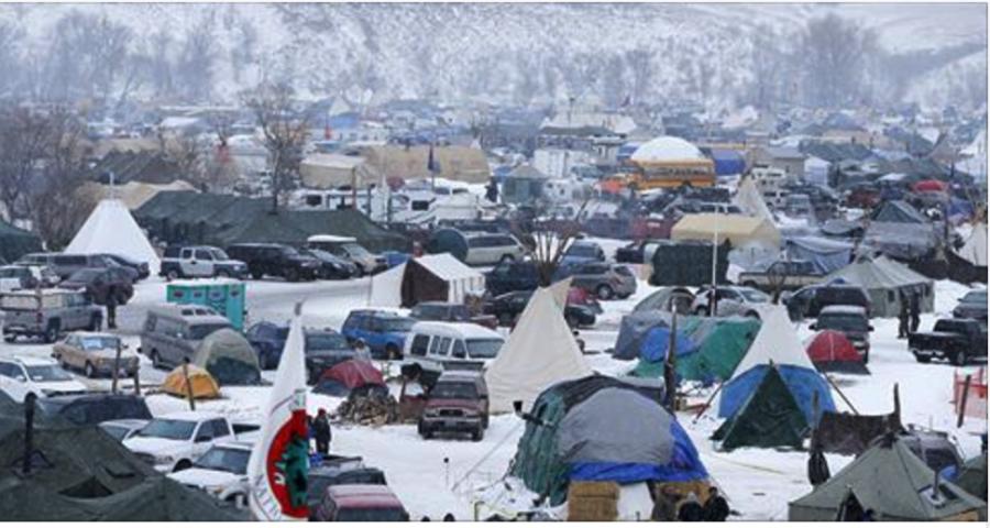 DAPL protest camp
