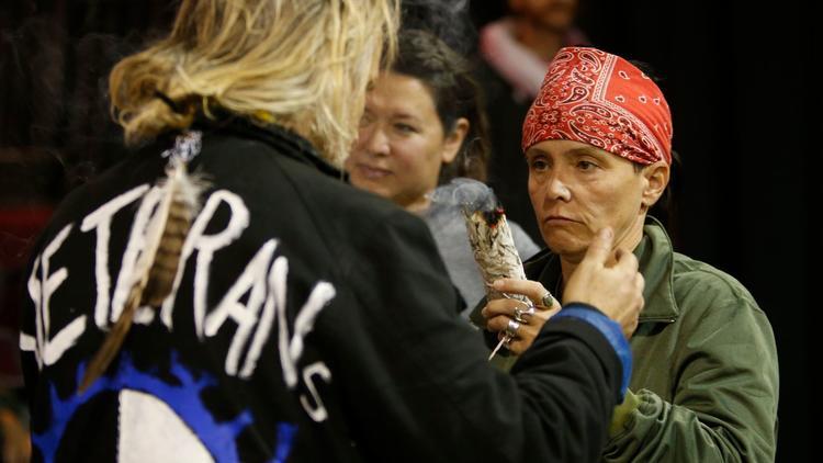 Veterans at Standing Rock