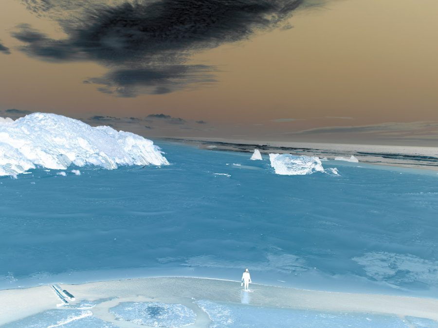 Untitled seascape by Richard Misrach