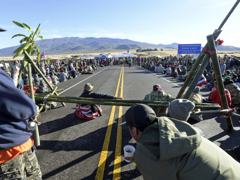 Mauna Kea demonstration
